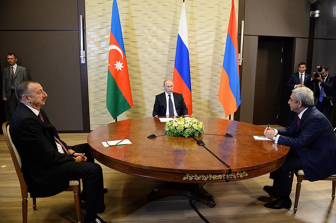 Встреча президентов России, Армении и Азербайджана