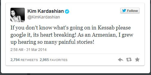 Если вы не знаете о том, что происходит в Кесабе, поищите в Гугле! Это разрывает сердце! Будучи армянкой, я выросла на таких же трагических историях!