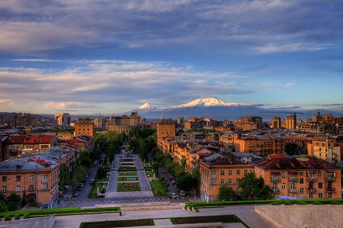 Армения. Ереван. Знакомство с городом. Видео