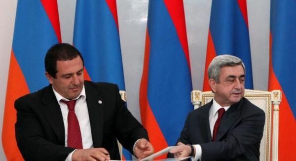 «Жаманак»: Царукян надеется составить коалицию с Республиканской партией после 2018 года